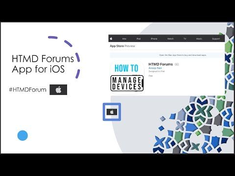 HTMD Forum App | iOS & Android Applications | Introduction | Release 2