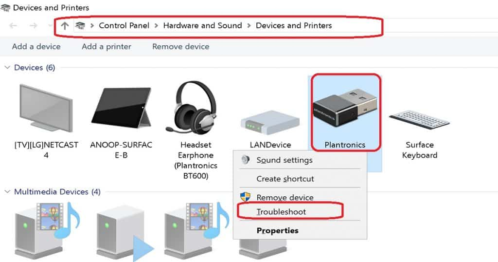 Plantronics Voyager 4220 Issue Series - Troubleshoot - Windows 10