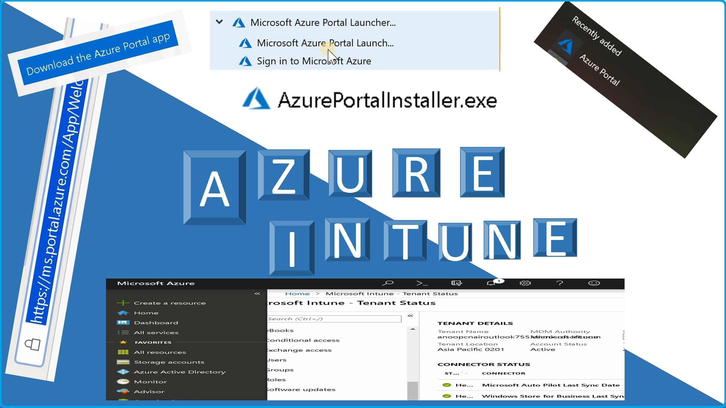 Azure Portal Application