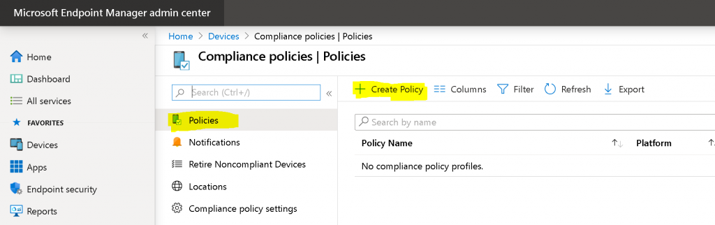 Create an Intune Compliance Policy for Windows 10 Devices Possible to Create Custom Intune Compliance Policy 2