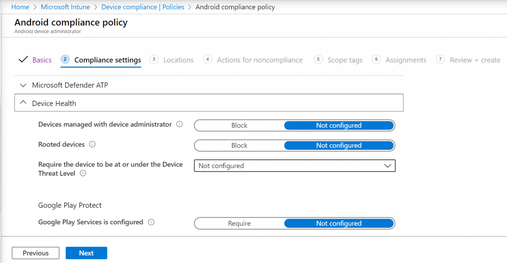 Android Enterprise Administration using Intune - Migration Process