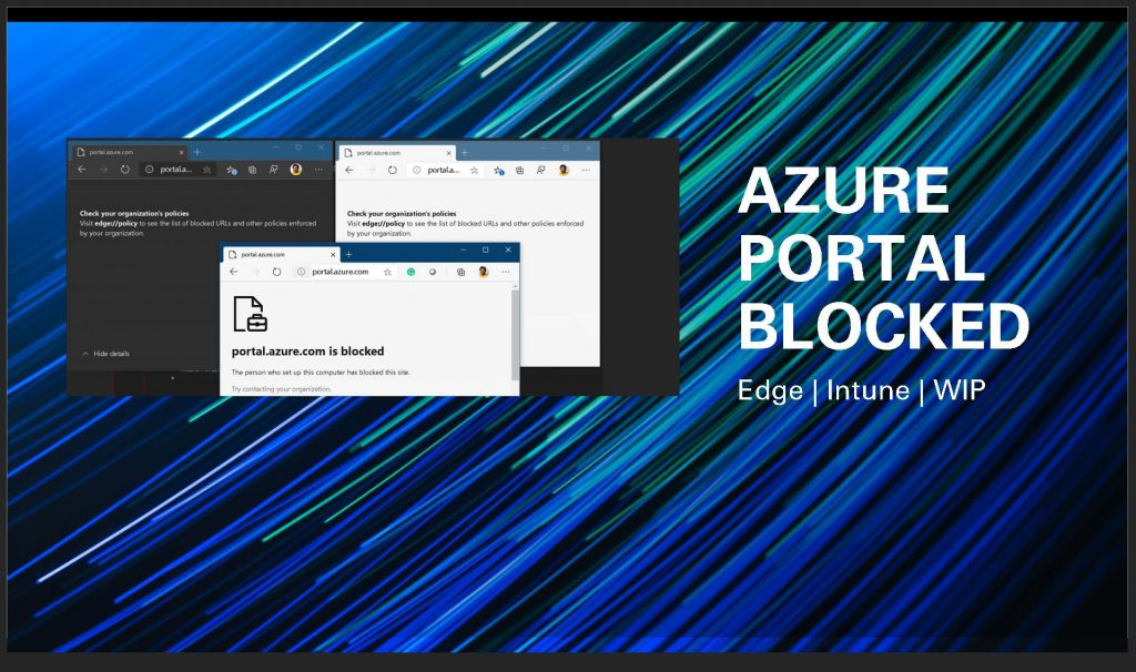 Azure Portal Teams SharePoint Blocked