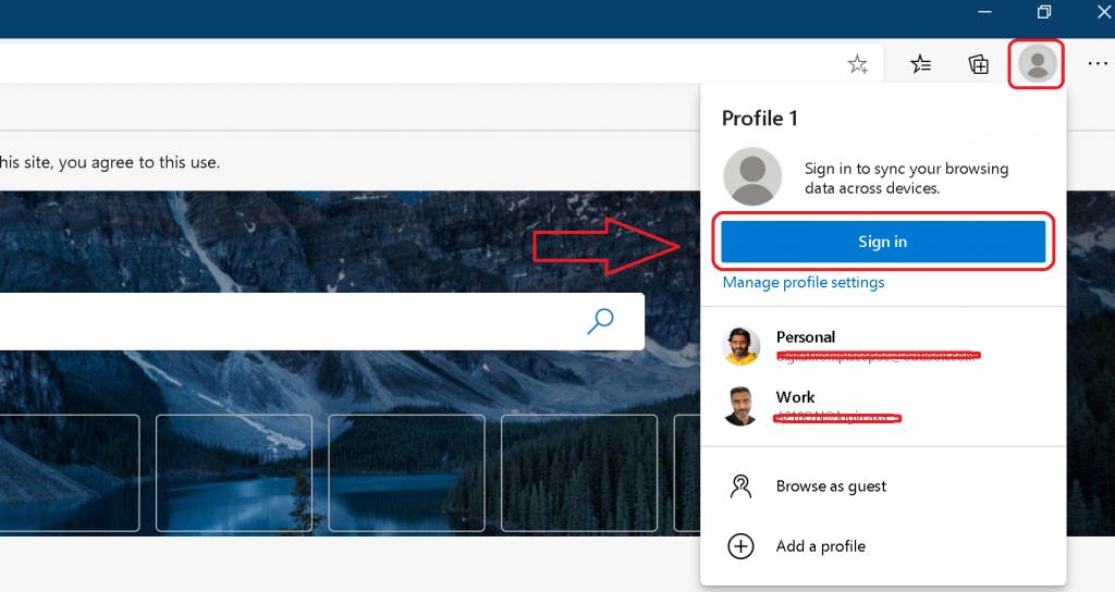 Azure Portal Teams SharePoint Blocked with Microsoft Edge Chromium