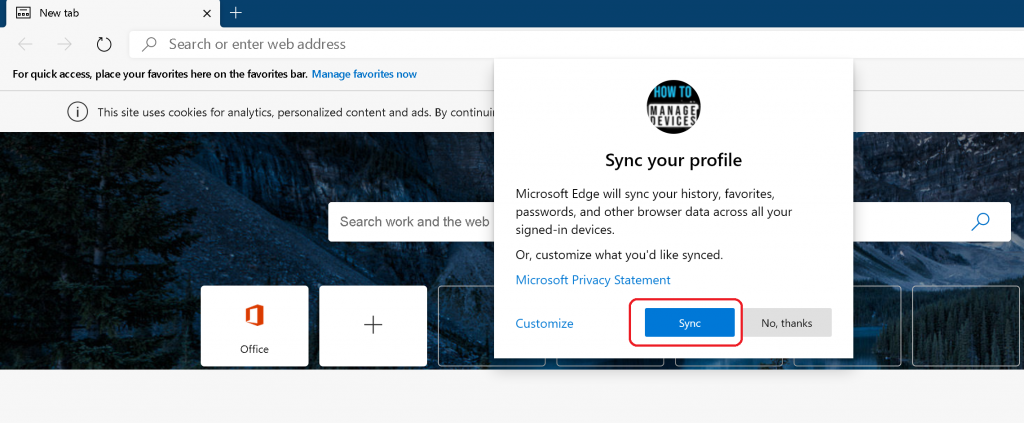 Azure Portal Teams SharePoint Blocked with Microsoft Edge Chromium
