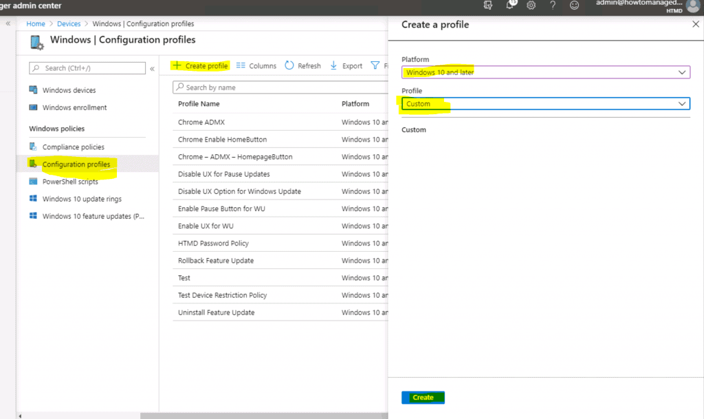 Manage & Deploy Firefox ADMX Policy using Intune