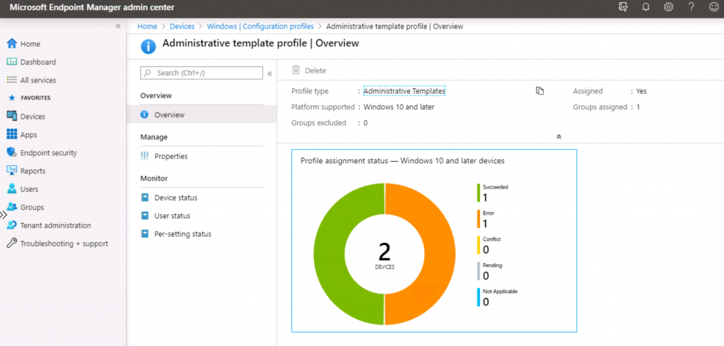 OneDrive Office 365 Security Policies Troubleshooting with Event