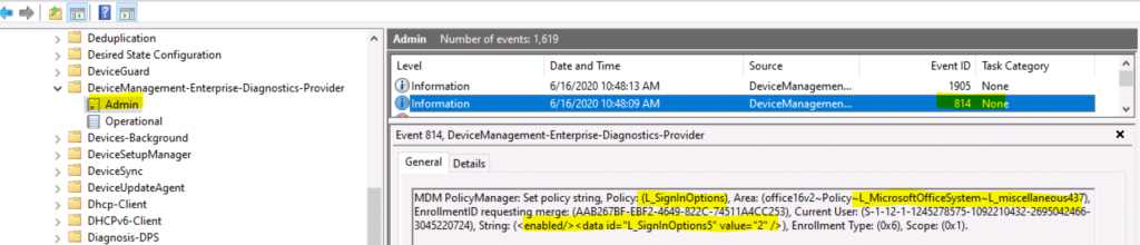 Block signing into Office Using Administrative Template Policy | Intune | Organization only 1