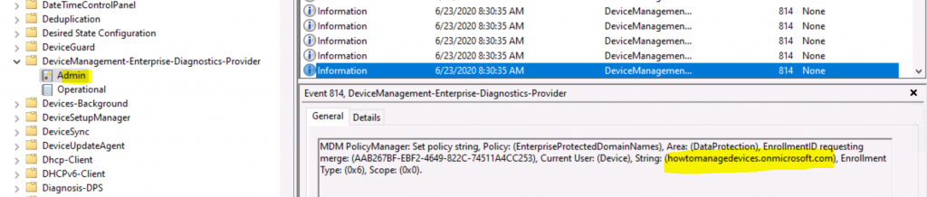 Windows Information Protection Policies using Intune Troubleshooting Tips