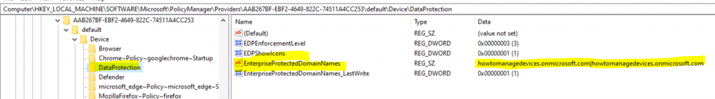 WIP Policies are not Getting Applied to Office web Portal Internal Web Apps | Intune 2