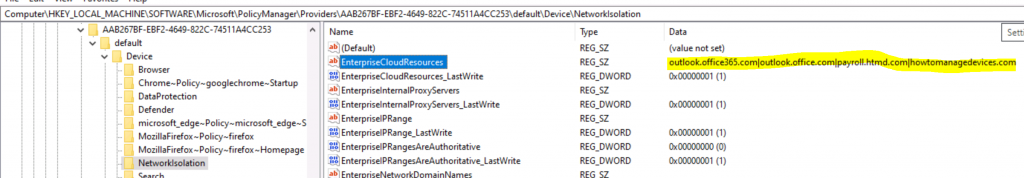 WIP Policies are not Getting Applied to Office web Portal Internal Web Apps | Intune 3