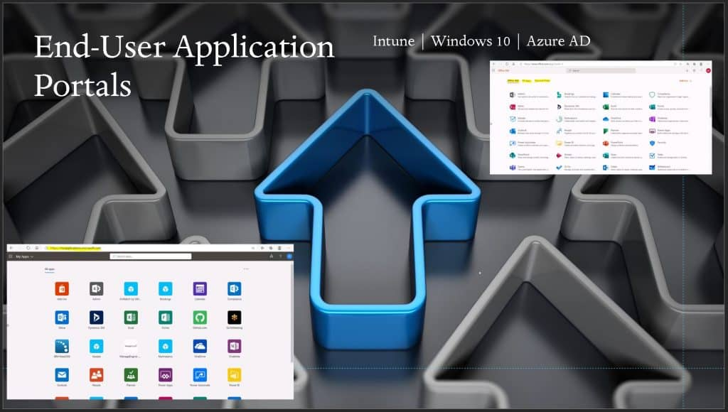 Intune Different End-User Application Portals for Modern Management