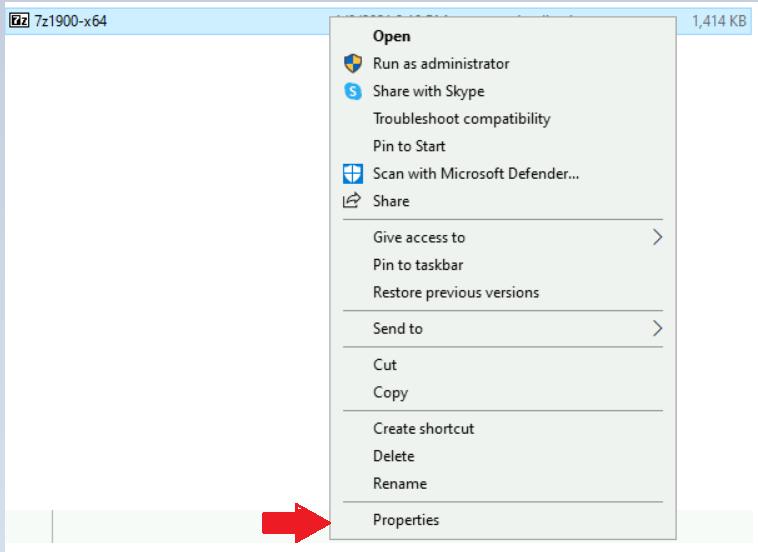 Unblock App Files in Windows 10