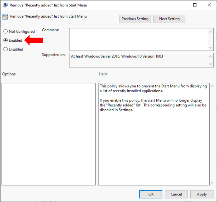 How to Remove Recently Added Apps from Start Menu in Windows 10 1