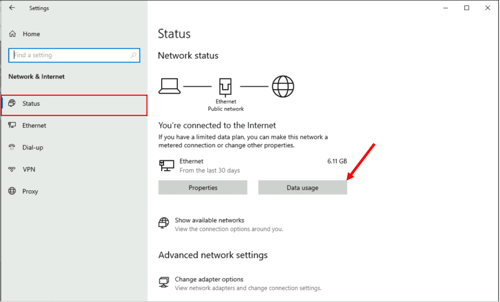 How to Set Data Usage Limit in Windows 10