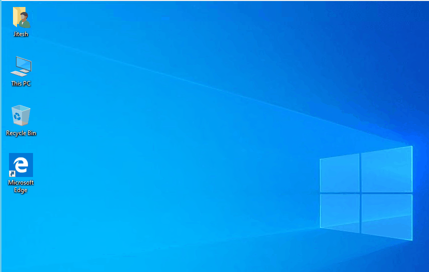 How to Add or Remove Default Desktop Icon in Windows 10