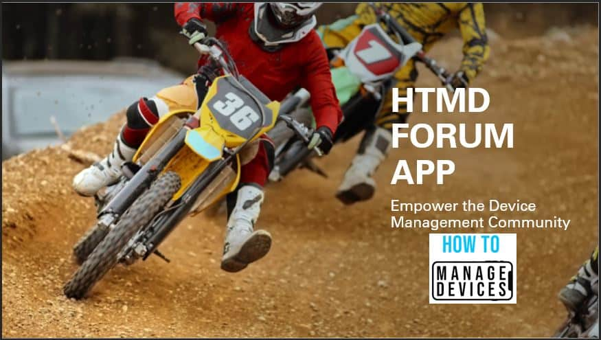 HTMD Forum App