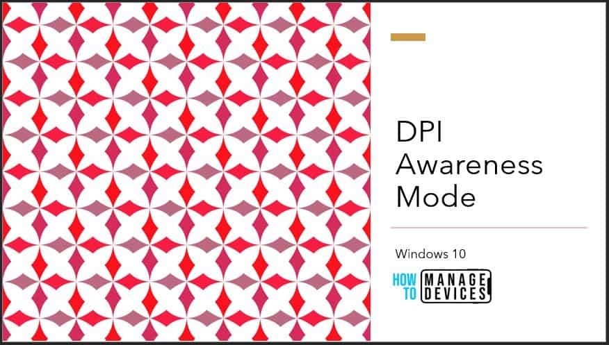 View DPI Awareness