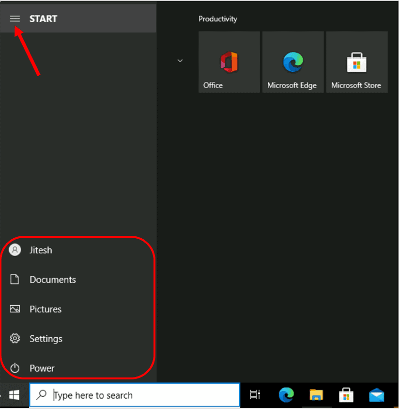 How to Customize Folders Appearance in Windows 10 Start Menu