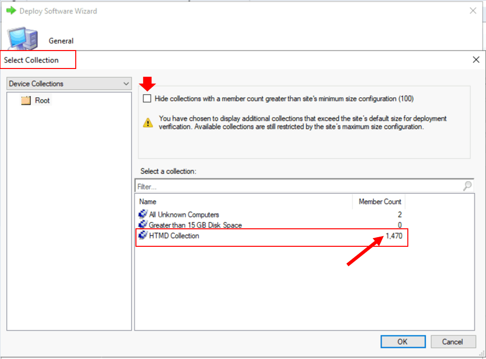 How to Configure Collection Size Limits in Task Sequence Deployment Settings | Configuration Manager | SCCM