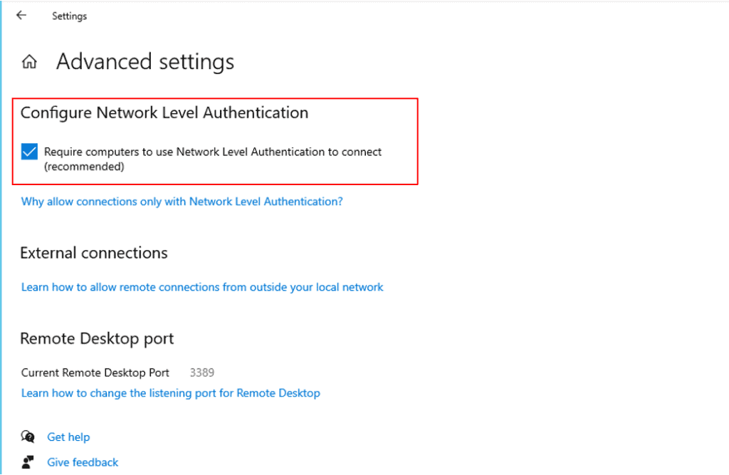 How to Enable or Disable Remote Desktop Access in Windows 10