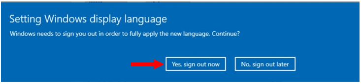 How to Add Language packs in Windows 10