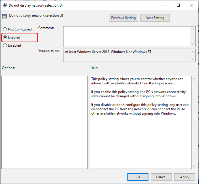 How to Add or Remove Network Icon on Lock and Sign-in Screen in Windows 10