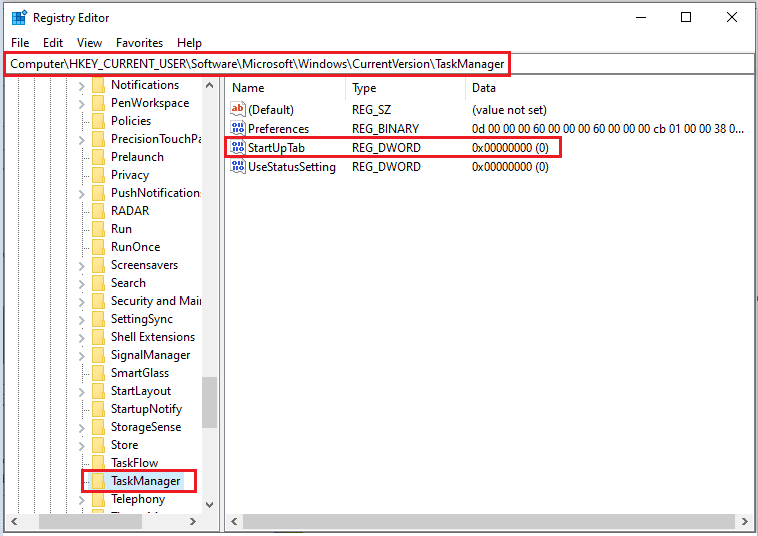 How to Set Default Tab For Task Manager in Windows 10