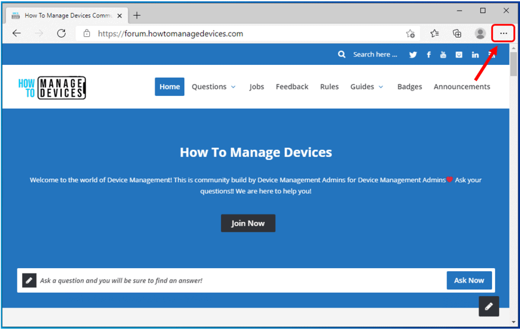How to Turn On or Off Vertical Tabs in Microsoft Edge Chromium | Windows 10 1