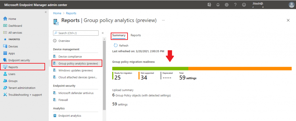 How to Use Group Policy Analytics in Intune Portal | Endpoint Manager