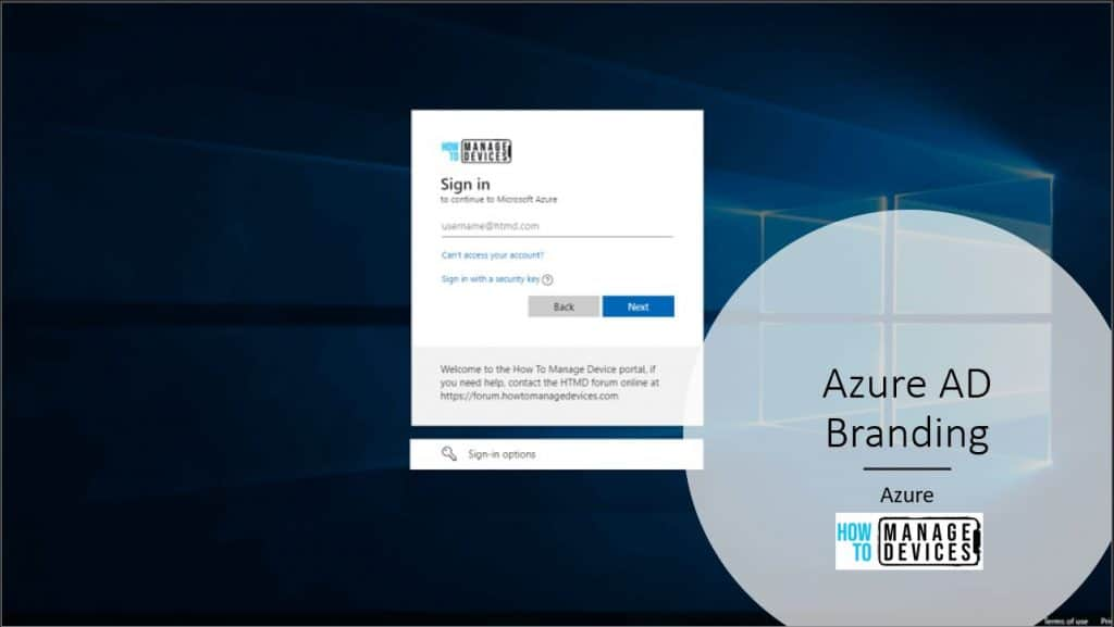 Azure AD Company Branding