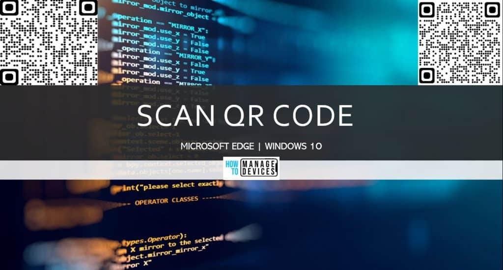 How to Create QR Code in Microsoft Edge chromium