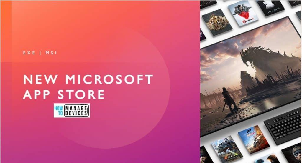 New Microsoft App Store