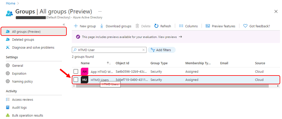Intune Search Option Improvements for Groups and Members | Endpoint Manager