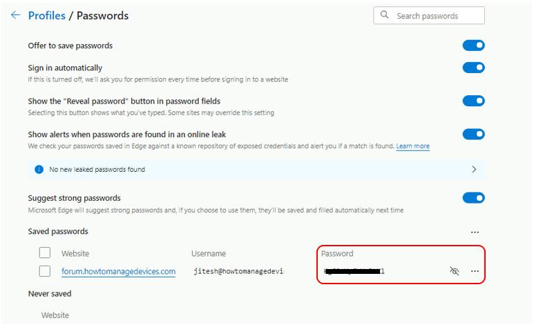 How to View Saved Passwords in Microsoft Edge Chromium | Windows 10