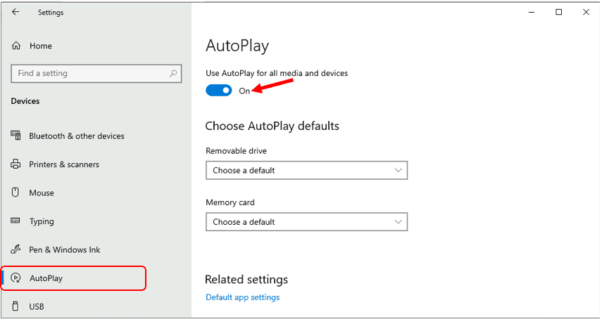 How to Enable or Disable AutoPlay in Windows 10