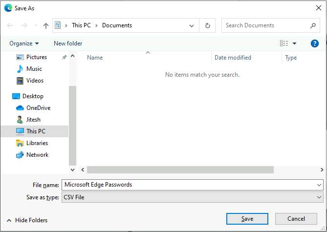 How to Export Passwords in Microsoft Edge Chromium | Windows 10