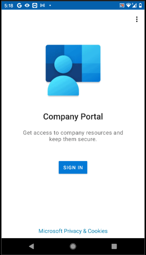 Enroll Android Enterprise Personally Owned with Work Profile (BYOD) in Intune