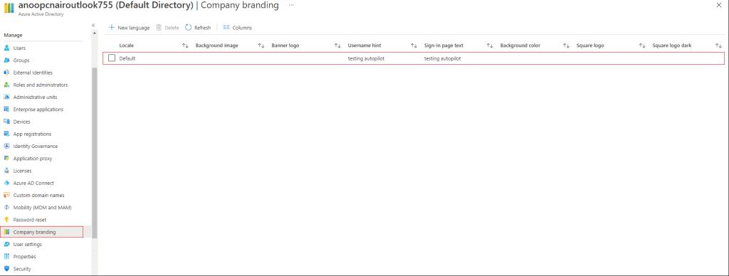 How to Setup Azure AD Company Branding