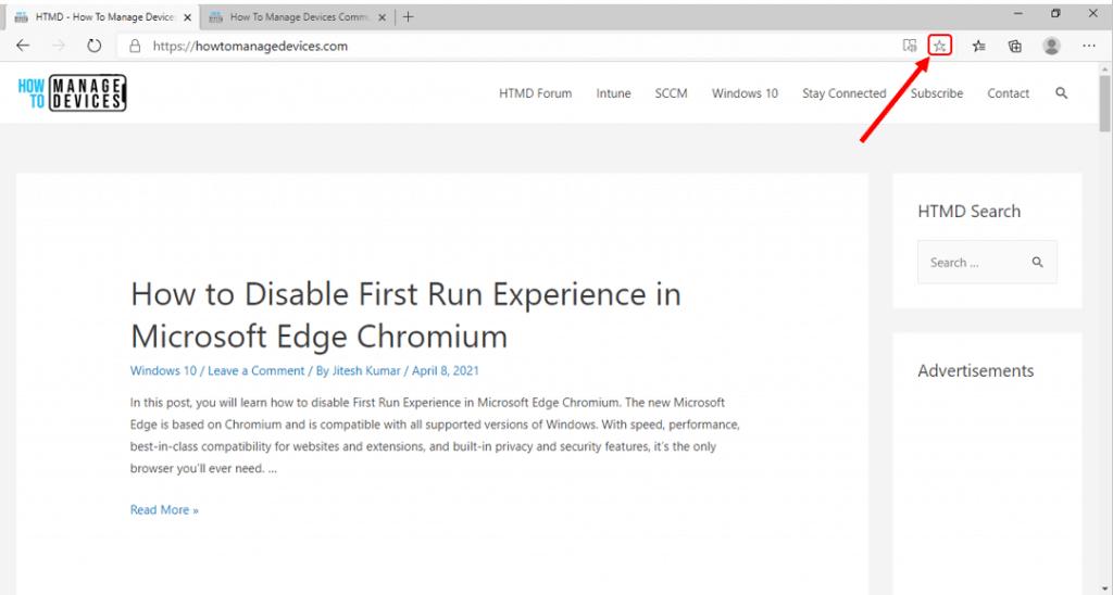 How to Add Favorites in Microsoft Edge Chromium | Windows 10