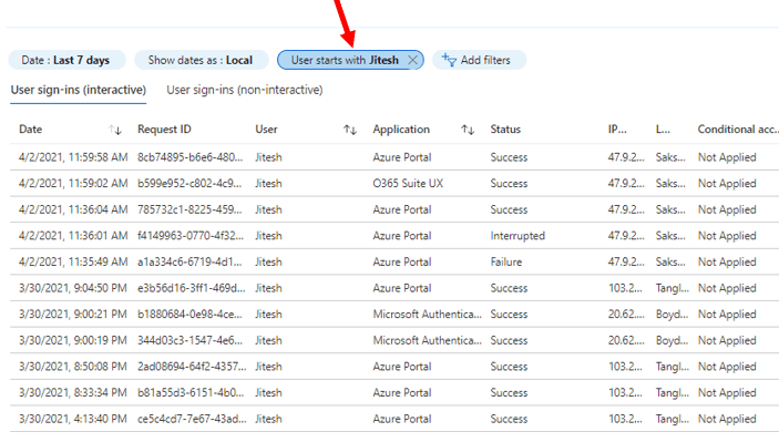 Sign-in Activity Reports in Intune portal | Endpoint Manager