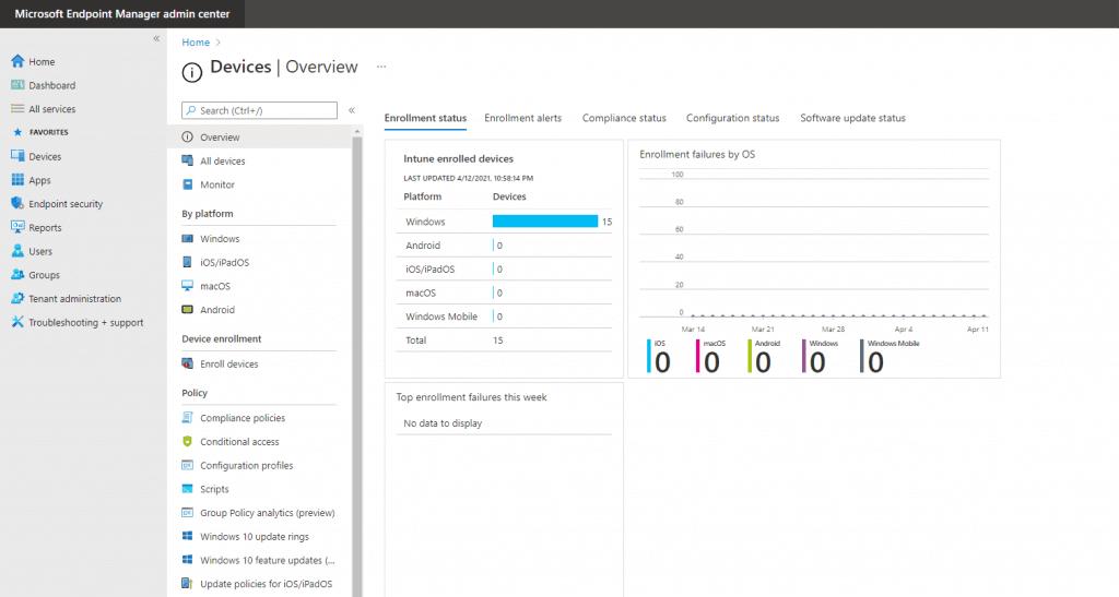 Configure Intune Enrollment Setup for Android Enterprise Device management