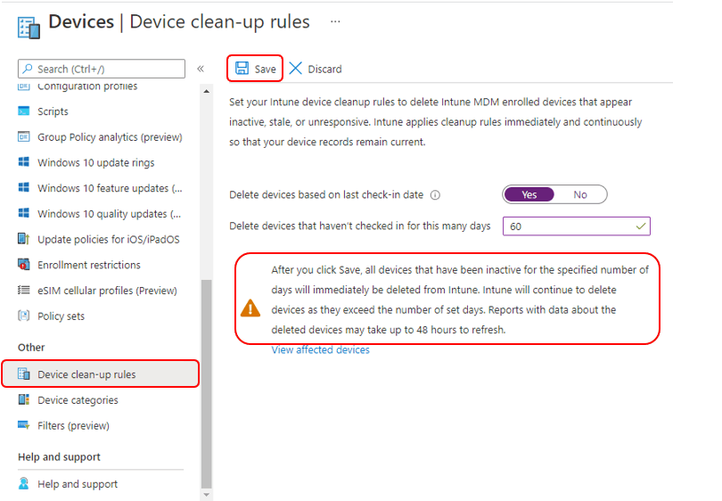 How to Automatically Cleanup Intune Device | Endpoint Manager