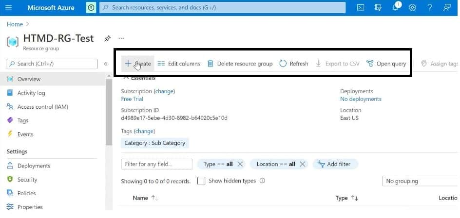 What is Azure Resource Group? Creation and Deletion Process Step by Step Guide 5