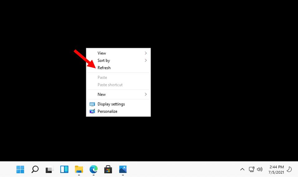 Windows 11 Refresh Option - Where is Windows 11 Refresh Button Option