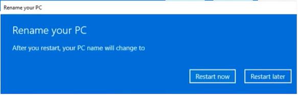 Rename your PC - Windows 11