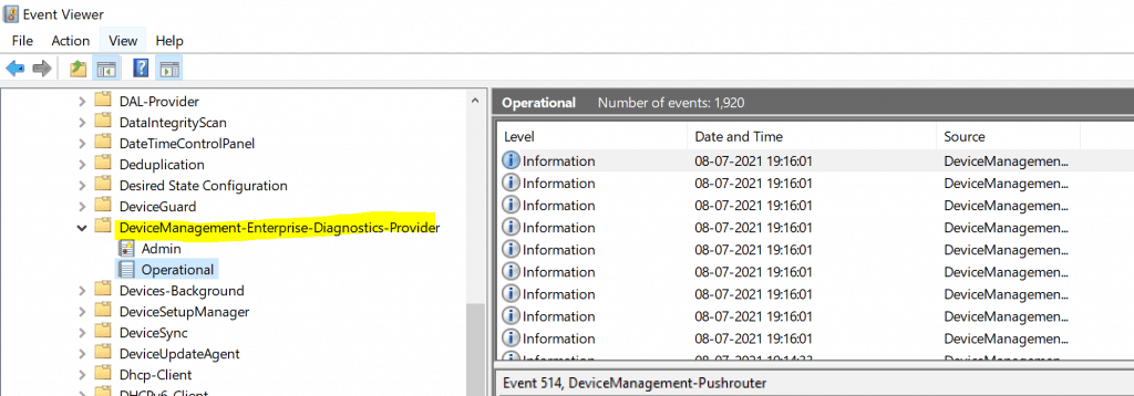 Intune Logs in Windows PCs Location Details How to Collect Diagnostic Reports 1