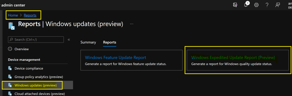 Intune Reporting Issue: Expedite Windows Security Patch Deployment