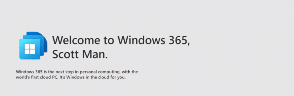 Introducing Windows 365 Personal Desktop Cloud PC offering from Cloud 2