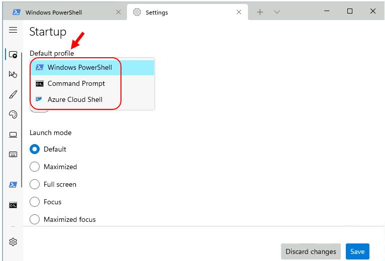 New Windows Terminal in Windows 11