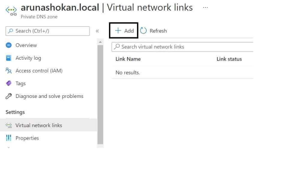 Create Private DNS Zones in Azure | step-by-step guide 4